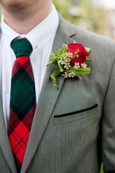 23 Fancy Tartan Ideas For Your Winter Wedding - Weddingomania