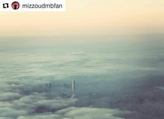Photo by @mizzoudmbfan: Amazing sight approaching LaGuardia yesterday afternoon.