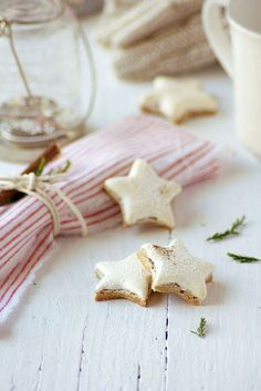 holiday, christma atmospher, christma inspir, stars, food, rustic christma, cooki, cinnamon star, merri christma