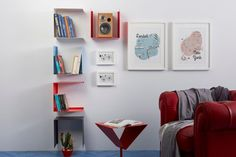 Weekly sales of unseen design and decoration brands at exclusive discounts. Regal Design, Bookcase, Gallery Wall, Shelves, Interior Design, Form, Home Decor, House Ideas, Products