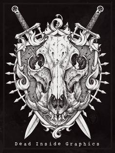 Boar Skull on Behance