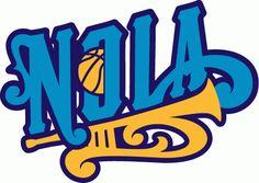 New Orleans Hornets Secondary 2 Logo