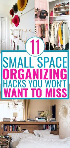 Small Space Organization Hacks 11 hacks for organizing small spaces. Learn how … Small Space Organization Hacks 11 hacks for organizing small spaces. Learn how. Small Apartment Organization, Organizing Hacks, Home Organization Hacks, Organizing Small Apartments, Storage For Small Spaces, Small House Storage Ideas, Small Apartment Hacks, Organising, Life Hacks