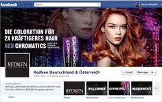 REDKEN Page for Germany and Austria
