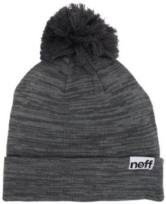 48b21ae67f4 neff Women s Heather Pom Beanie Hat
