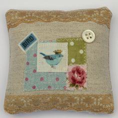 Cute Pin Cushion - would make a cute pillow