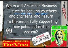 Businesses should support Public Schools. 90% of children go to Public Schools, why only support the 10%? #ALEC @BadassTeachersA #TBATs