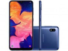 "Smartphone Samsung Galaxy A10 32GB Azul 4G - 2GB RAM 6,2"" Câm. 13MP + Câm. Selfie 5MP - Magazine Edlifes Asus Zenfone, Selfie, Iphone 8, Wi Fi, Android Phone Hacks, Smartphone Motorola, Samsung Galaxy, Ipad, Operating System"