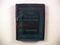Vintage Miniature Book, The Ancient Mariner and Other Poems by Samuel T. Coleridge, 1920-1924