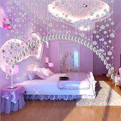 Fashion Colorful Round Beads Crystal Curtain for Indoor Decoration is part of Girls dorm room - Welcome to my shop