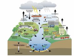 Water pollution causes