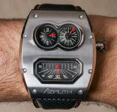 Azimuth Mr. Roboto R2 Watch Review