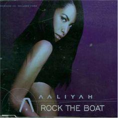aaliyah albums | Aaliyah Rock The Boat Album Cover, Aaliyah Rock The Boat CD Cover ...