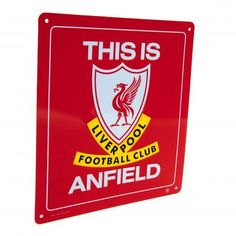 Liverpool F.C. This is Anfield Sign – Unique Sports Collectibles Of Europe