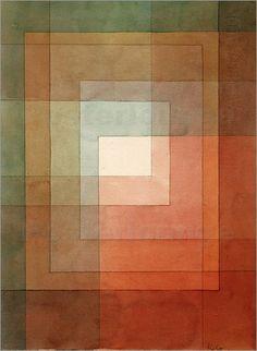 Paul Klee - polyphon gefasstes Weiss (+weitere von Paul Klee!)