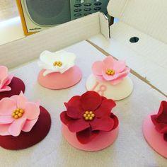 Progress shot of cupcake toppers....  #reallyyummycakes #cakedesigner #bespokecakes #hampshirecakes #winchestercakes #cakes #cupcakes #bespoke #buylocal #flowers #winchester #hampshire