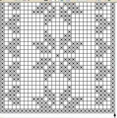 Bilderesultat for croche com grafico caminho de mesa