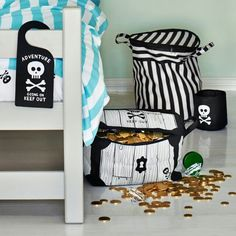 Treasure Chest Storage Basket