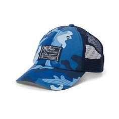 d267475c27e Camo-Print Trucker Hat - Polo Ralph Lauren Hats - RalphLauren.com