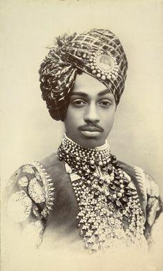 Sardar Singh, Maharaja of Jodhpur (1880-1911) Are we sure this isn't Eddie Murphy in his roll in Coming to America?