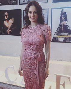 Evelyn Sharma in a Manav Gangwani dress for the calendar shoot by Dabboo Ratnani  #bollywoodcelebs #bollywoodclothes #indianfashion #inspiration #evelynsharma #manavgangwani