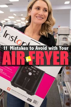 11 Mistakes to Avoid With Your Air Fryer - The Krazy Coupon Lady