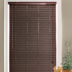 Wholehome Md 1 Faux Wood Window Blinds Sears For Downstair Br