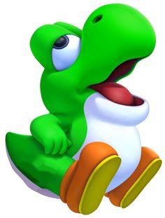 Photo of Baby Yoshi for fans of Yoshi 33210506 Mario Kart, Mario Bros., Mario And Luigi, Super Mario 3d, Super Mario Party, Super Mario World, Nintendo Characters, Video Game Characters, Super Mario Coloring Pages