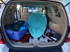 Perfect fit in a Toyota Highlander...
