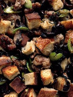 ... Fare on Pinterest | Thanksgiving side dishes, Stuffing and Mushrooms