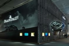 Baselworld See the Striking Displays From the World's Biggest Luxury Watch Fair Exhibition Space, World's Biggest, Signage, Facade, Racing, Display, Activities, Pos, Dark