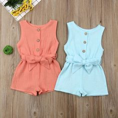 Picnic Outfits, Baby Outfits, Kids Outfits, Summer Outfits, Toddler Outfits, Summer Romper, Summer Baby, Clothes 2019, Fancy Clothes