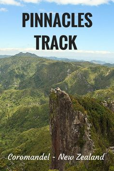 The Pinnacles Track in the Coromandel, New Zealand offers stunning views and is worth climbing up all the steps! Check out more amazing photos here!