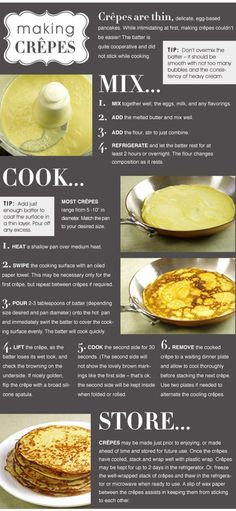 Making Crepes R mom made the best to try this and pray mine are half as good as Pizza Dessert, Crepes And Waffles, Savory Crepes, Delicious Desserts, Yummy Food, How To Make Crepe, Crepe Recipes, Making Crepes, Le Diner