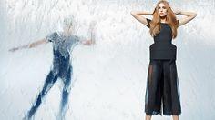 fendi spring 2014 campaign4 Nadja Bender + Joan Smalls Star in Fendi Spring 2014 Ads