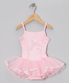 7058e0cbb5 Sparkle Adventure Pink Ballet Slipper Tutu Dress - Infant, Toddler & Girls