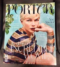 Michelle Williams for Porter Magazine Winter Escape 2016 | Art8amby's Blog