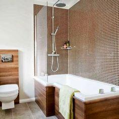 design moderne brun de salle de bains, des idées, des images 2014 3013