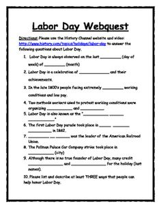 think like a historian with a fall webquest bundle utilize the history channels videos and descriptions of labor day halloween columbus day - Halloween Web Quest