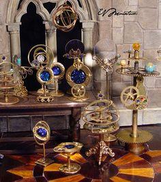 Starry Night Wizard Lens by EV Miniatures | eBay