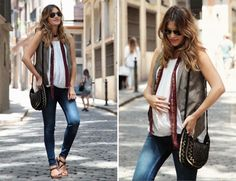 Maternity Outfits: Wearing Pants