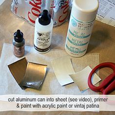 #Recycle aluminum cans into gorgeous jewelry #Resin #Upcycle @savedbyloves #DIY @Crafts