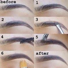 Maquiagem simple eye makeup, beautiful eye makeup, eyebrow makeup tips, makeup videos, Eyebrow Makeup Tips, Skin Makeup, Eyeshadow Makeup, Makeup Videos, Eyebrow Tutorial, Perfect Eyebrows Tutorial, Pinterest Makeup, Simple Eye Makeup, Makeup Tips For Beginners