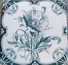 victorian tile 6X6 BY LEA AND BOLTON