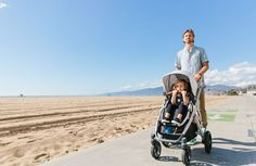 Loaded with features, Dad will love to push this sweet ride! 2017 UPPAbaby Vista in Loic Stroller Board, Convertible Stroller, Baby Strollers, New Baby Products, Dads, Celebrities, Children, Sweet, Blog