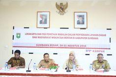 Bappeda Kabupaten Sumbawa bekerja sama dengan Australian Aid menggelar Lokakarya…