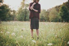 RD Style Plaid Skirt