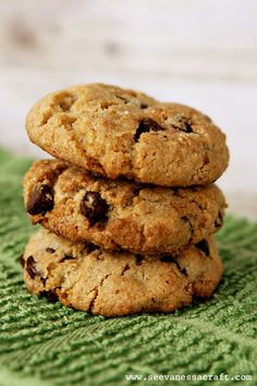Extra Chocolate Chocolate Chip Cookies Recipe