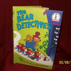 The Berenstain Bears The Bear Detectives 1975 by KittyCrafts80