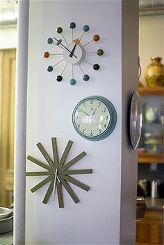Wall clocks to create a visually appealing display